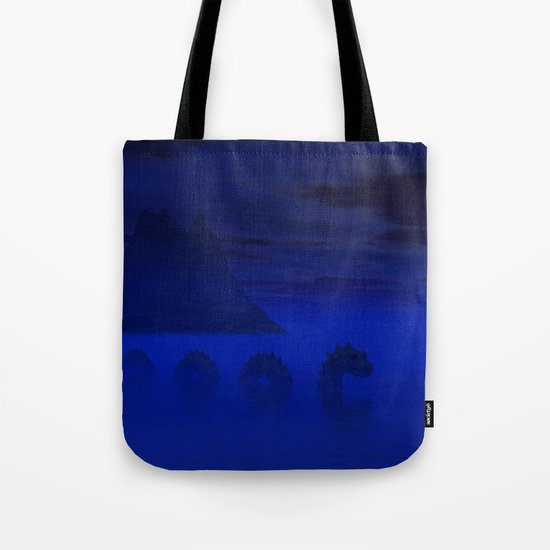 Midnight on the Loch Tote Bag