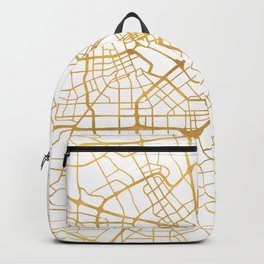 SAN JOSE CALIFORNIA CITY STREET MAP ART Backpack
