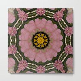 Floral Lei Metal Print