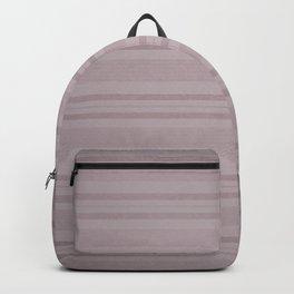 Vintage Stripes in Pink Backpack