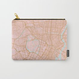 Tokyo map, Japan Carry-All Pouch