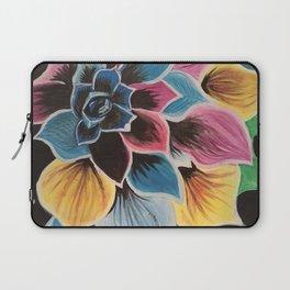 Colourful Flower by Noelle's Art Loft Laptop Sleeve