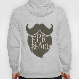 Epic Beard dark brown Hoody