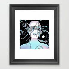 I See My Dreams and Memories Collide Framed Art Print