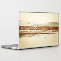 nautical Laptop & iPad Skins featuring Nautical  by Sylvia C