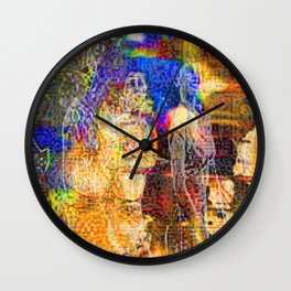 Sjfty Wall Clock