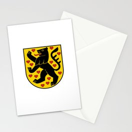flag of weimar Stationery Cards