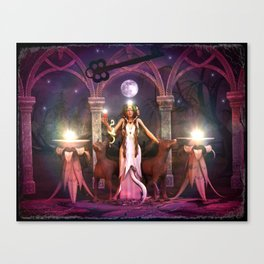 Keeper of the Flame- HEKATE Canvas Print