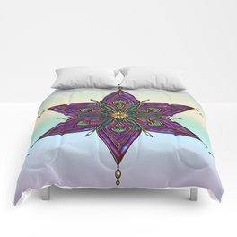 Crest of Kali Comforters
