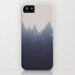 Forest in the Haze iPhone Case