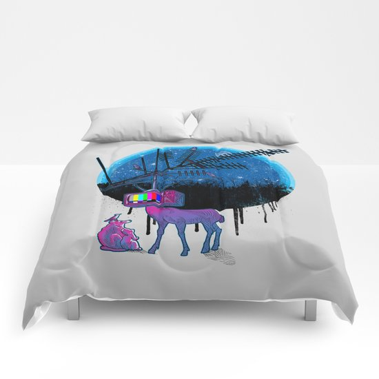 Nature TV Party Comforters