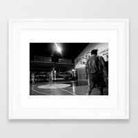 basketball Framed Art Prints featuring Basketball by The Missionary Photographer