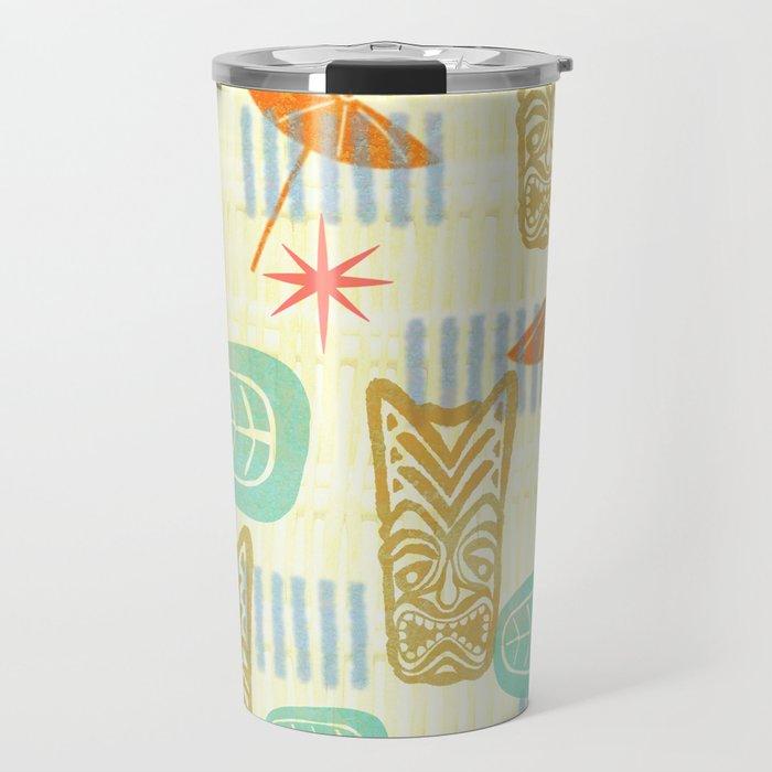 TIKI On The Beach Travel Mug