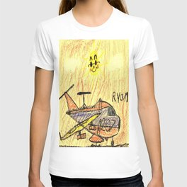 Commercial Cargo Plane T-shirt