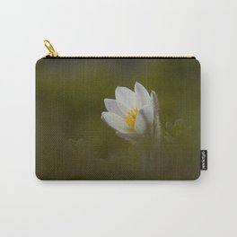 Spring pasque flower Carry-All Pouch