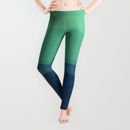 Stripe VIII Minty Fresh Leggings