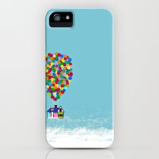 up high iPhone (5, 5s) Slim Case