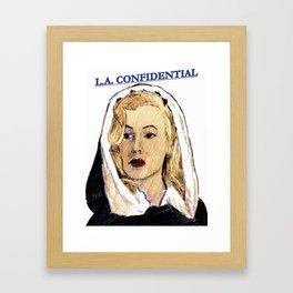 LA Confidential Framed Art Print