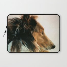 Lassie of The Hill Laptop Sleeve