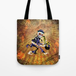Winston - Sax. The Twitch Doctors Tote Bag