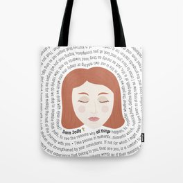 Dana Scully - XF Quotes Tote Bag