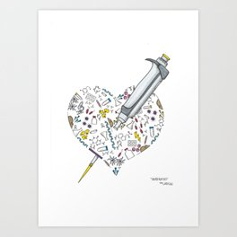 """Unrequited"" Art Print"