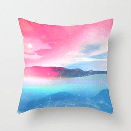 BLENDING Throw Pillow