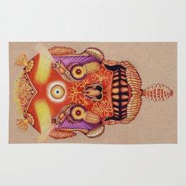 Holy Lumen Skull Rug