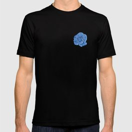 British chintz floral pattern T-shirt