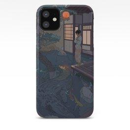 Naoki and the Crocodile iPhone Case
