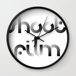 Shoot Film Wall Clock