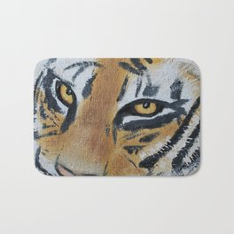 Tiger Eyes 2 Bath Mat