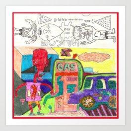 mind link Art Print