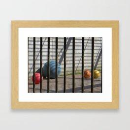Still life in zoo Framed Art Print