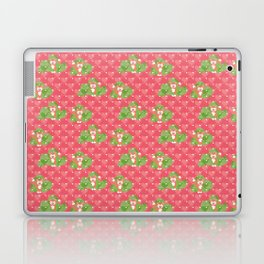 Foxes in the cherry orchard Laptop & iPad Skin