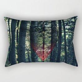 Trip Away Into the wild Rectangular Pillow