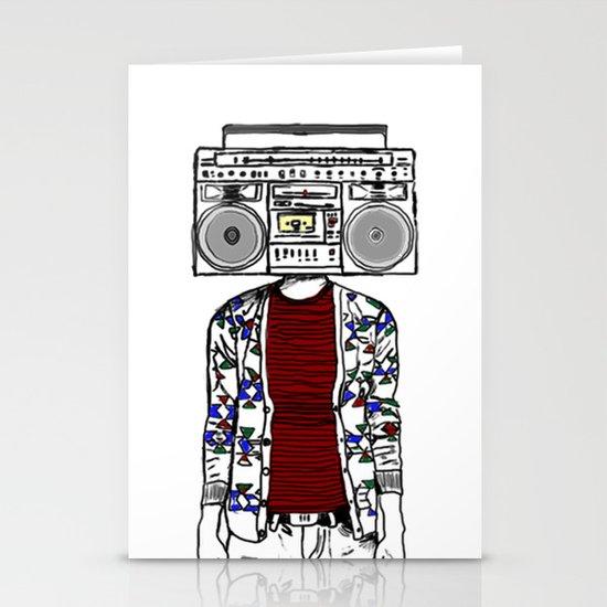 Radio daze Stationery Cards