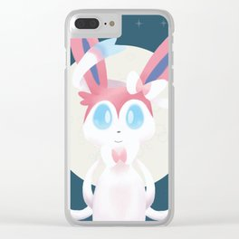 Sylveon Clear iPhone Case