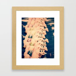 Carnie Pigs Framed Art Print