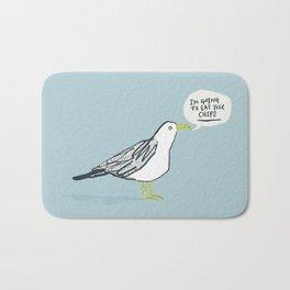 Greedy Gulls Bath Mat