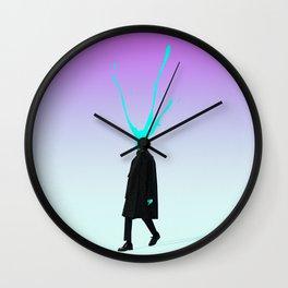 Slah Wall Clock