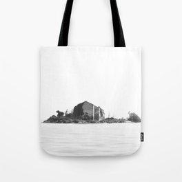 Island BW Tote Bag