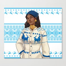 Very Merry Isabela Canvas Print