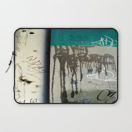 Once upon a wall Laptop Sleeve