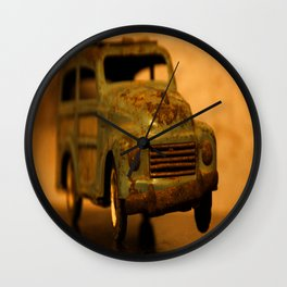 Lost Cars Four Wall Clock