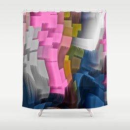 Extrusion VI Shower Curtain