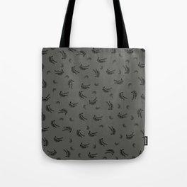 Big bang bananas: grey Tote Bag
