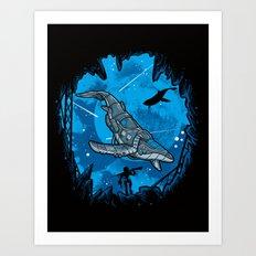 Abyss 2099 Art Print