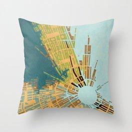 cypher number 11 (ORIGINAL SOLD). Throw Pillow
