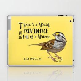 Fall Of A Sparrow Laptop & iPad Skin